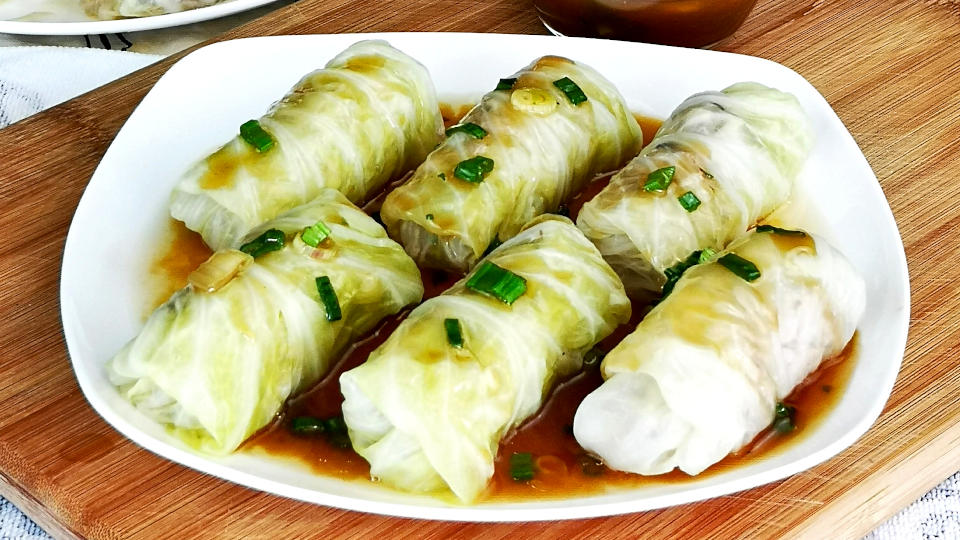 Cabbage Roll How To Make The Best Chinese Stuffed Cabbage