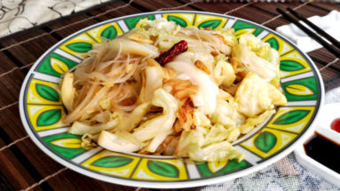 cabbage stir-fry featured image