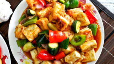 sweet and sour tofu featured image