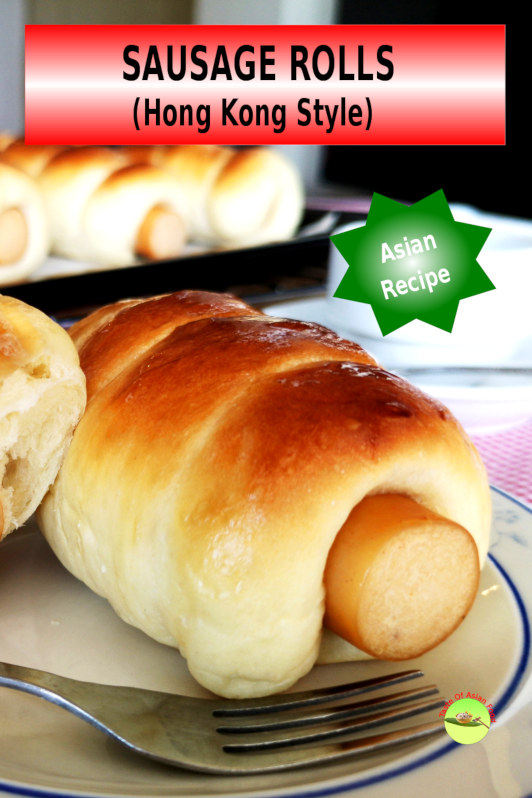 How to make Hong Kong style sausage rolls (also called hot dog rolls, hot dog buns) is best for breakfast and afternoon tea. A popular Asian variation of the western hot dog.