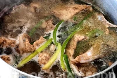xiao log bao - chicken broth