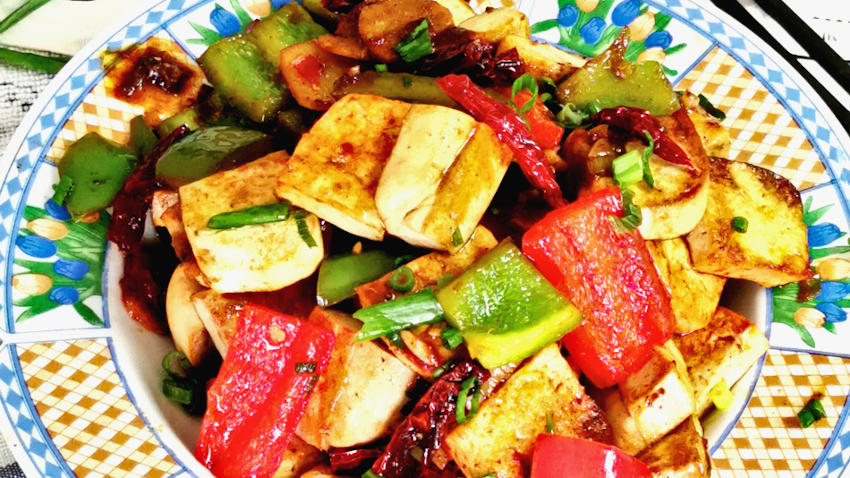 Kung pao tofu – how to  cook in 5 easy steps