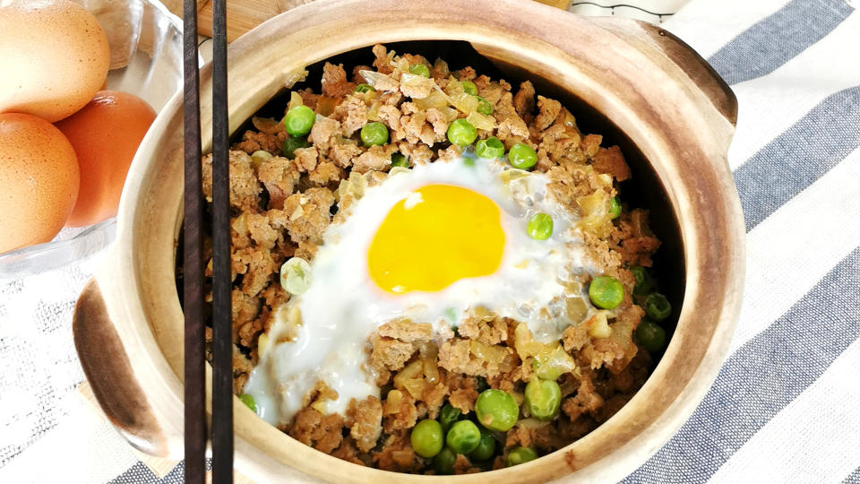 ground beef rice fealtured image
