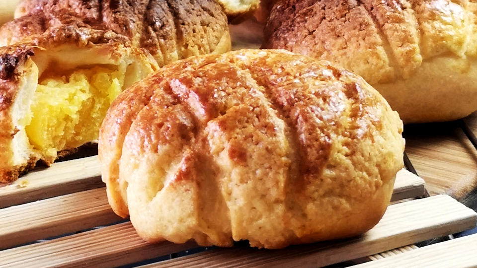 Pineapple bun 菠蘿包- How to make it at home
