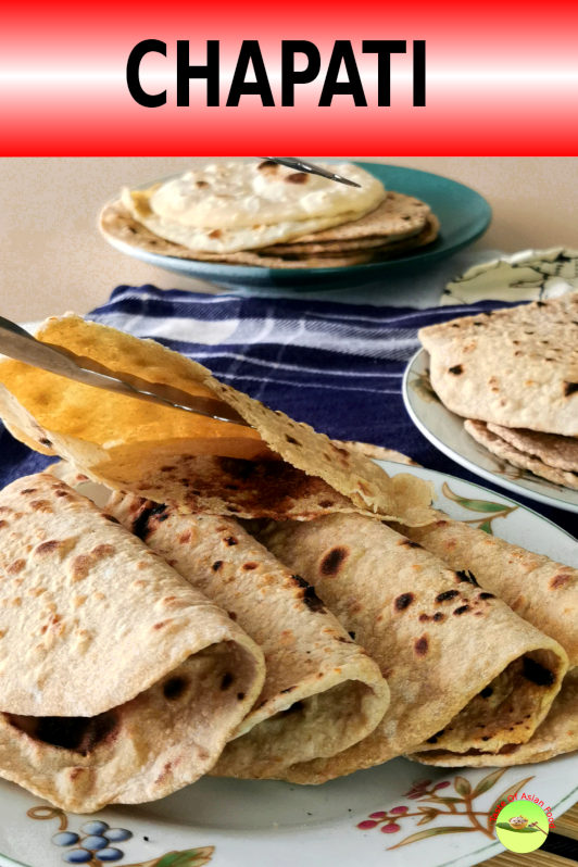 This authentic chapati recipe yields one of the best Indian flatbread that I have tried.