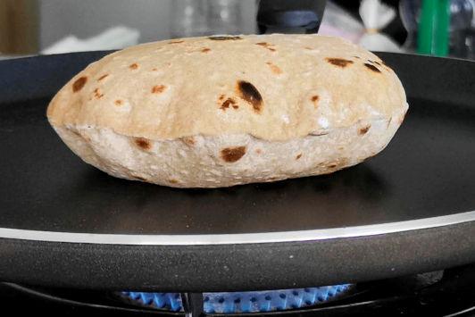 puff up chapati recipe