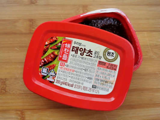 Korean chili paste  (Gochujang)