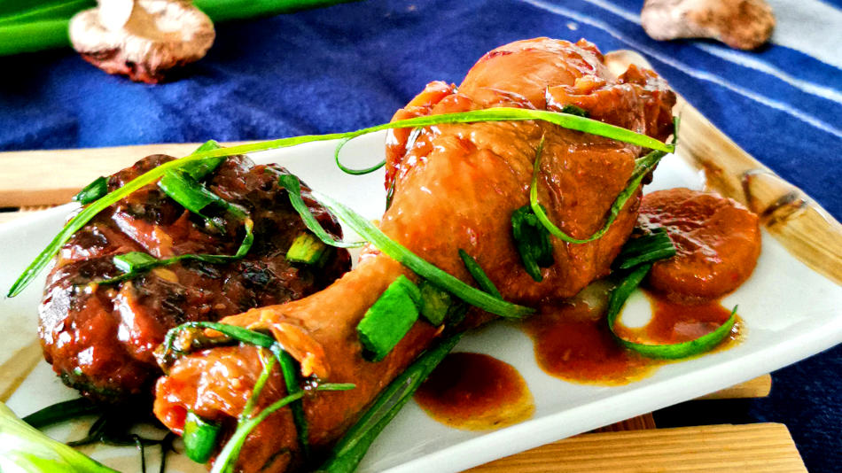 Braised chicken – How to cook with mushrooms