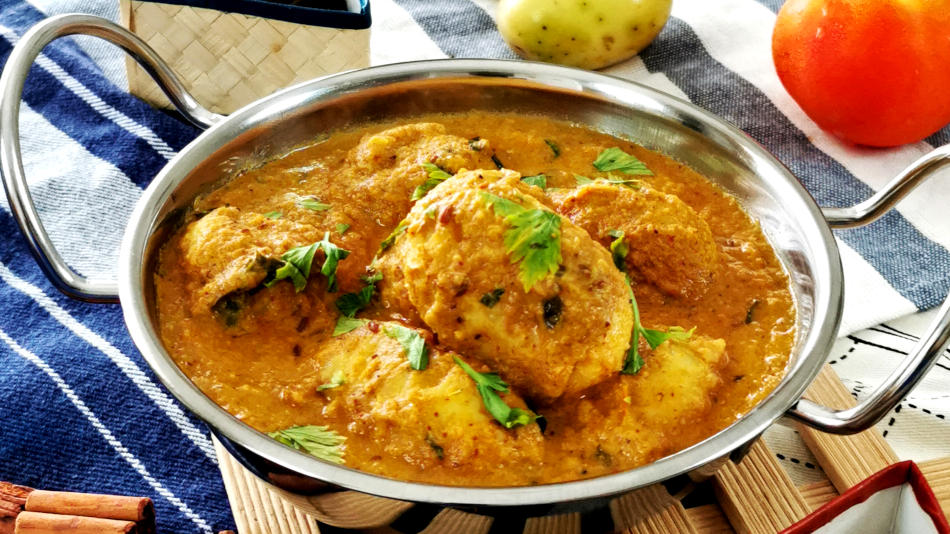Dum Aloo – How to prepare (a wonderful vegetarian dish)