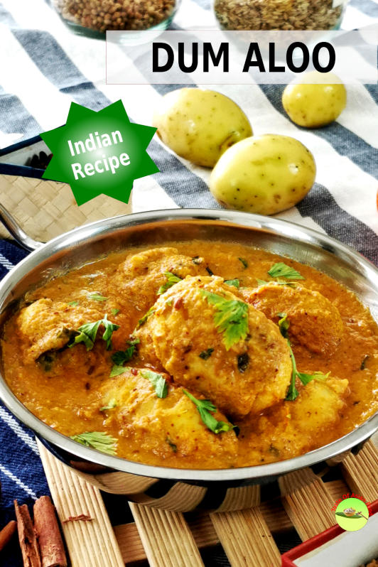 Dum aloo is the name of the Indian potato curry, which has assimilated into our Malaysian culinary culture. The allure of dum aloo lies in the plethora of spices that transform the potatoes into a melting pot of flavors.