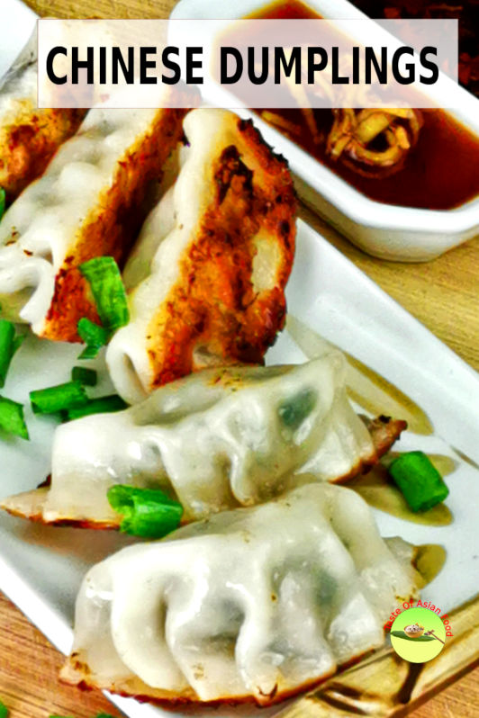 How to make Chinese dumplings.  (The filling, dumpling skin, wrap the dumpling). Also, how to make potstickers 锅贴 and boiled dumplings 水饺.