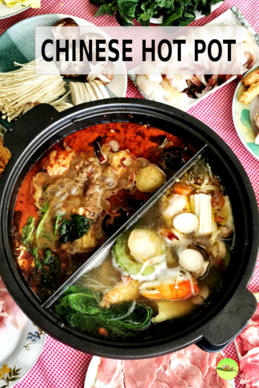 Chinese hot pot (火锅, huoguo, steamboat) is a popular cooking style that involves everyone cooking their food in a shared pot of broth.