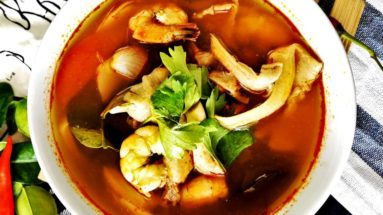 Tom yum soup featured image