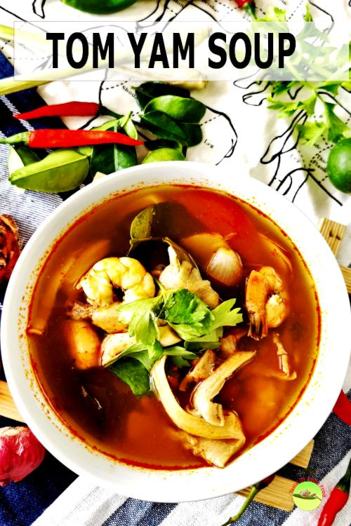 Tom Yum soup is the most famous Thai soup in the world for a reason.  Although it looks deceptively unpretentious, it is packed with a bold, citrusy and savory flavor.