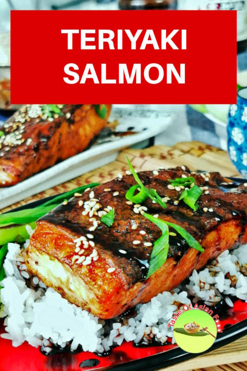 This easy teriyaki salmon recipe is surprisingly delicious, with a combination of sweet, salty, and savory tastes. The teriyaki salmon recipe is prepared with homemade authentic teriyaki sauce and does not require lengthy marinating.  Serve with rice and vegetable of your choice to make it a complete meal.