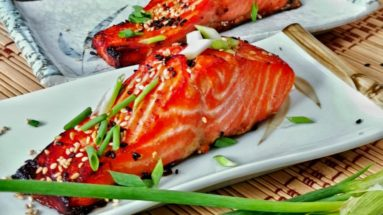 feature image of miso salmon recipe
