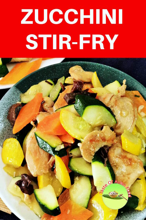 Zucchini stir fry with chicken is fast, easy to cook, healthy, and is ready in 25 minutes. This stir-fry recipe with an Asian spin is a welcoming change to bake, roast, and grill