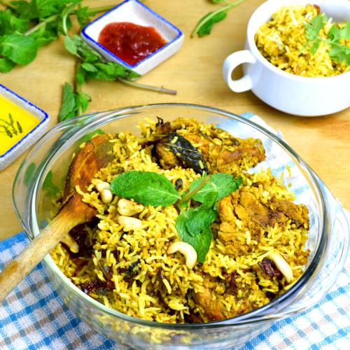 chicken biryai rice