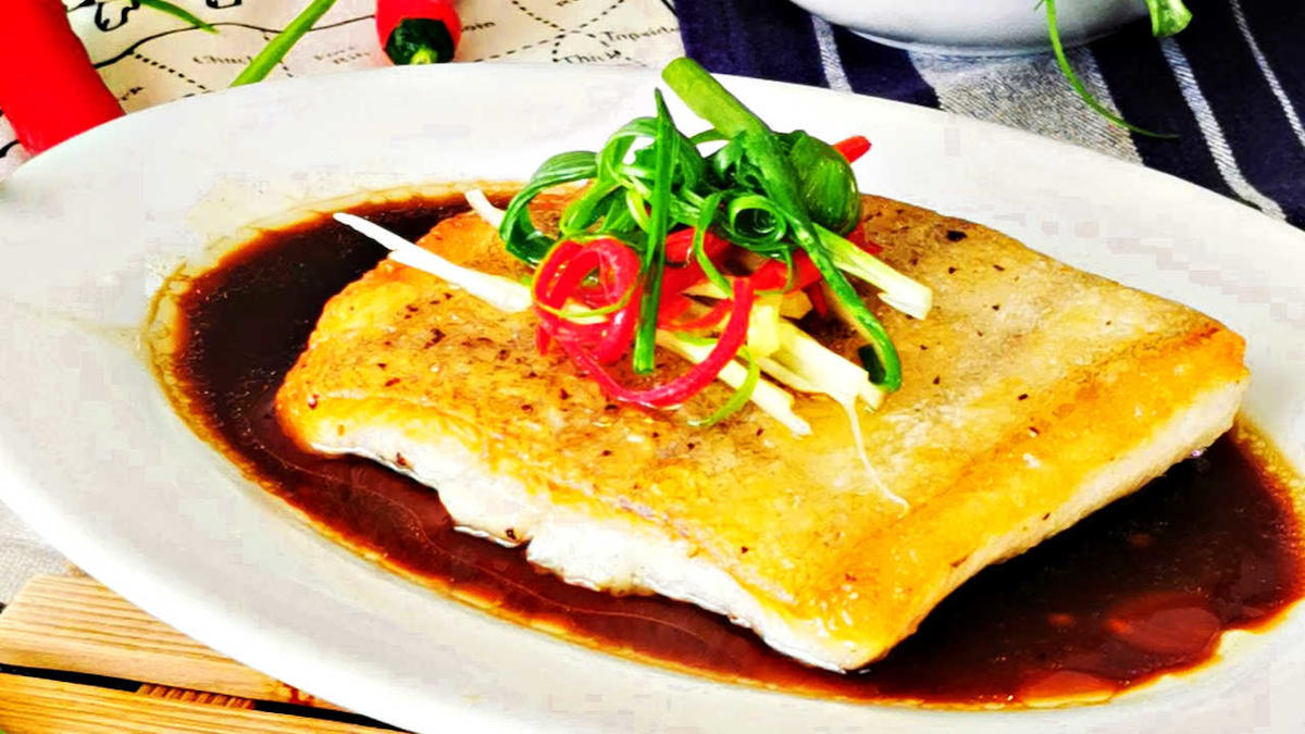 Pan-seared halibut featured image