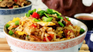 bacon fried rice featured image