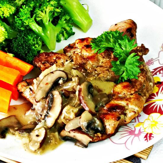 chicken chop square