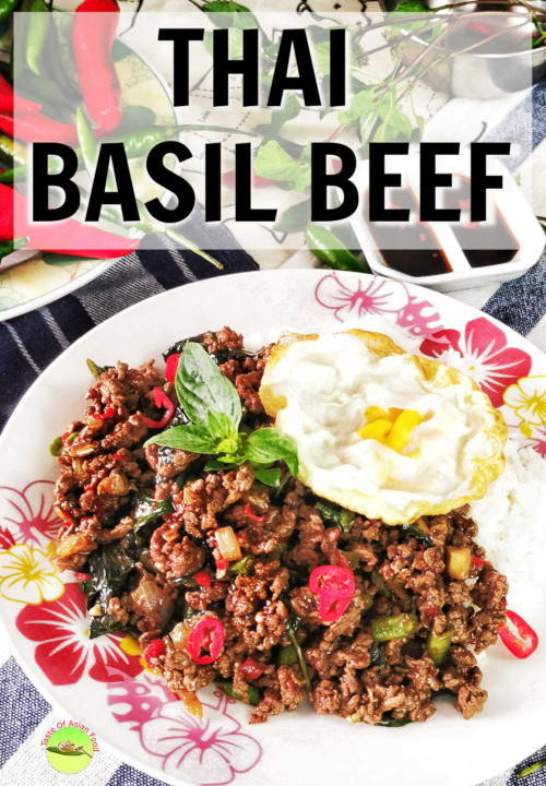 Thai basil beef is so versatile that it can be served as Thai basil beef noodles or Thai basil beef bowl top with a fried egg. It is a perfect one-pot meal, as it can make it in less than 30 minutes and satisfy almost every palate.
