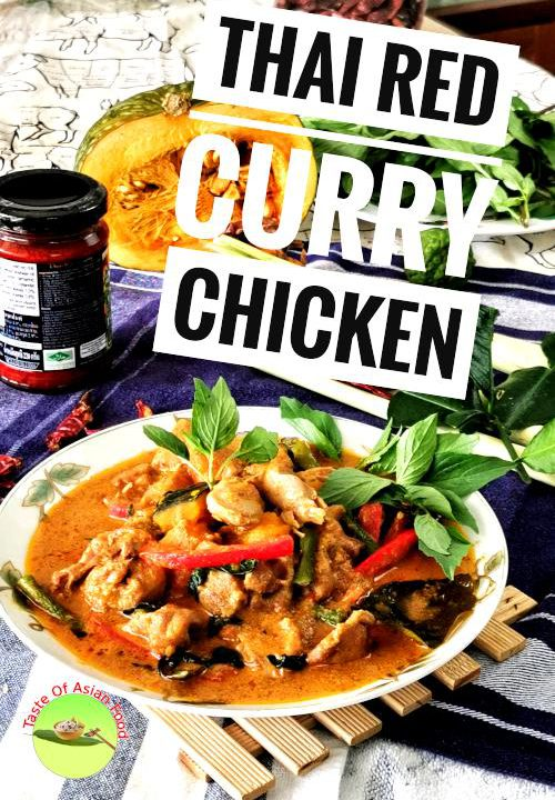 Thai red chicken curry - How to make the best Thai curry from scratch