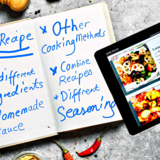 how to create a recipe featured image