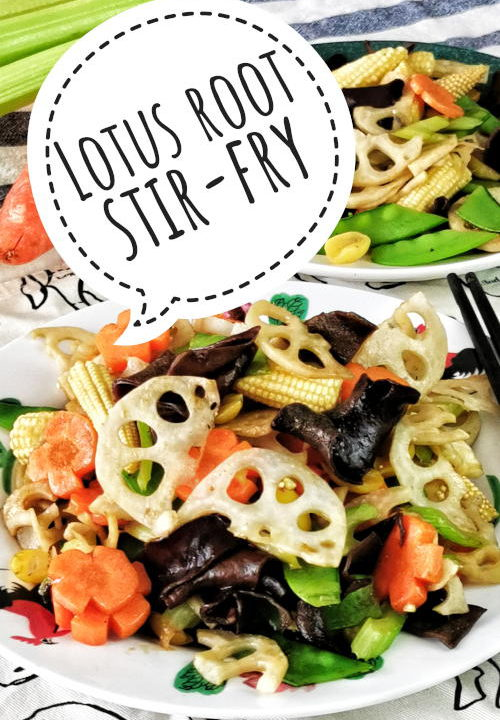 Lotus root stir fry is undoubtedly a dish that you should try. The flavor and texture of the lotus root are so unique that hardly any other vegetables can come close to it. It is slightly sweet, earthy, and has a crunchy texture when stir-fry.