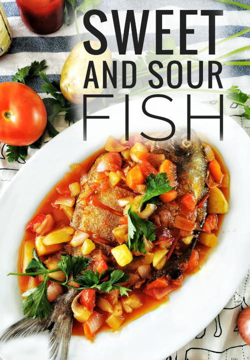 Sweet and sour fish (Malaysian Chinese style) is popular street food in Malaysia at the hawker stores at a reasonable price. This article shows you how to prepare it with homemade sweet and sour sauce. The sauce is poured on a deep-fried fish and is best to serve with steamed rice.