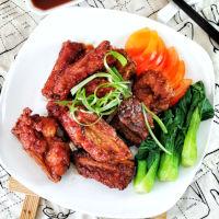 deep fried pork ribs square small