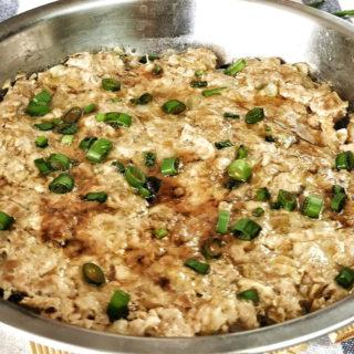tianjin preserved vegetable wit steamed minced pork