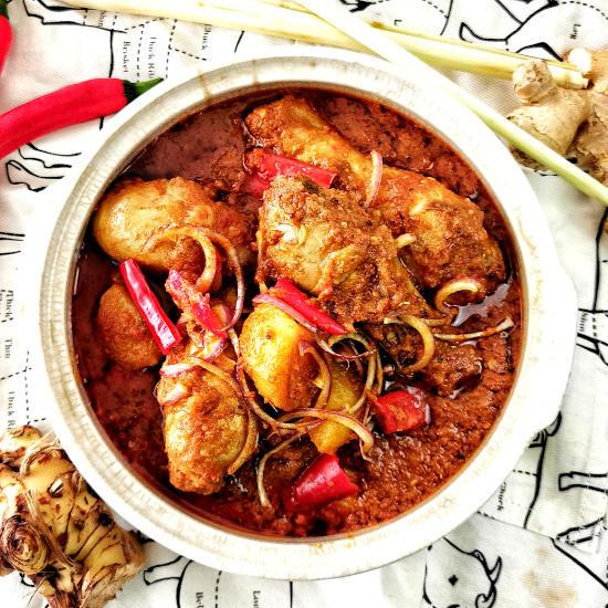 Devil's curry (debal curry)