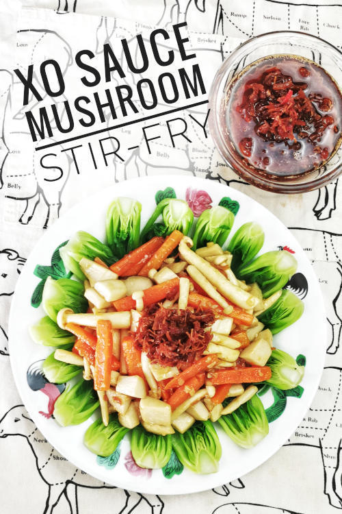 How to use XO sauce - easy reccipes with xo sauce, mushroom stir fry
