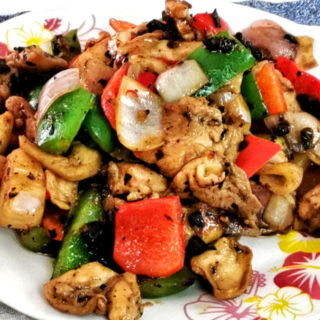 chicken with black bean sauce featured image